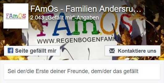 FAmOS - einem Verein zur Unterstützung von Regenbogenfamilien